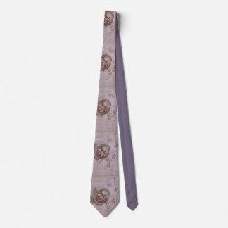 Gynecologist Obstetrician Men's Tie DaVinci Purple
