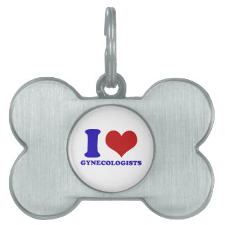 gynecologists design pet tag