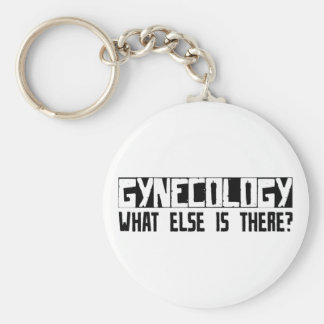 Gynecology What Else Is There? Keychain