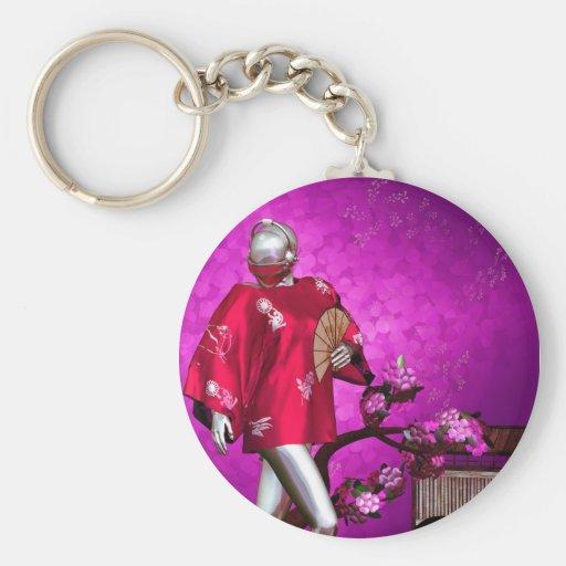 Gynoid: Sakura Keychain