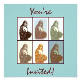 Gypsies 6 invitation