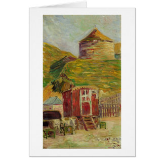 Gypsies at Port-en-Bessin, 1883 (oil on canvas) Card