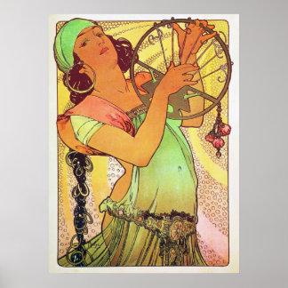 Gypsies Goddess Artwork Poster