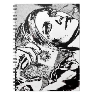 """""""Gypsy Ace"""" Spiral Notebook"""