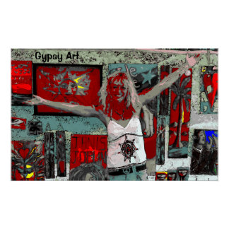 Gypsy Art Poster