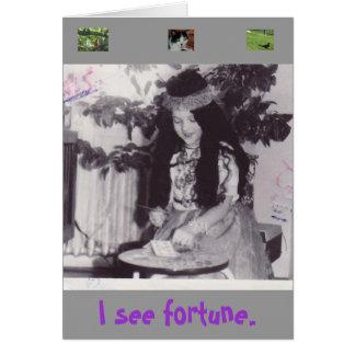 Gypsy $B.A.K.$ Original Greeting Card