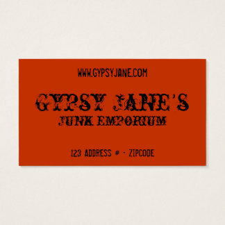 Gypsy Blue Business Card