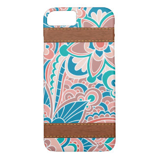 Gypsy, Boho, Teal and Peach iPhone 8/7 Case