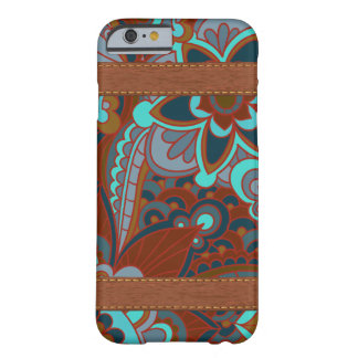 Gypsy, Boho Turquoise and Brown Barely There iPhone 6 Case