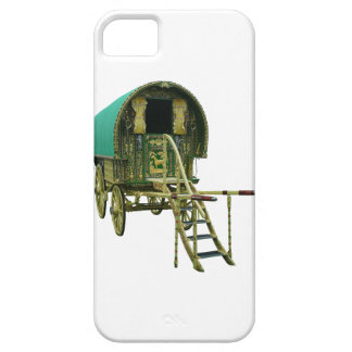 Gypsy bowtop caravan iPhone SE/5/5s case