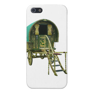 Gypsy bowtop caravan iPhone SE/5/5s cover