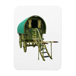 Gypsy bowtop caravan magnet