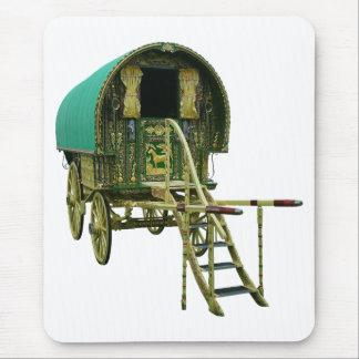 Gypsy bowtop caravan mouse pad