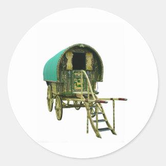 Gypsy bowtop caravan stickers