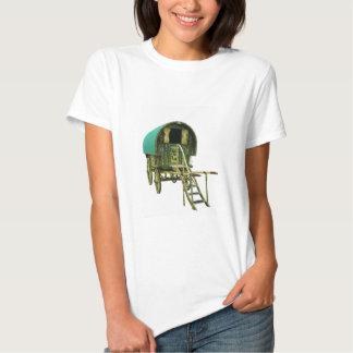 Gypsy bowtop caravan t-shirt