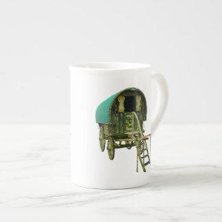 Gypsy bowtop caravan tea cup