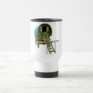 Gypsy bowtop caravan travel mug