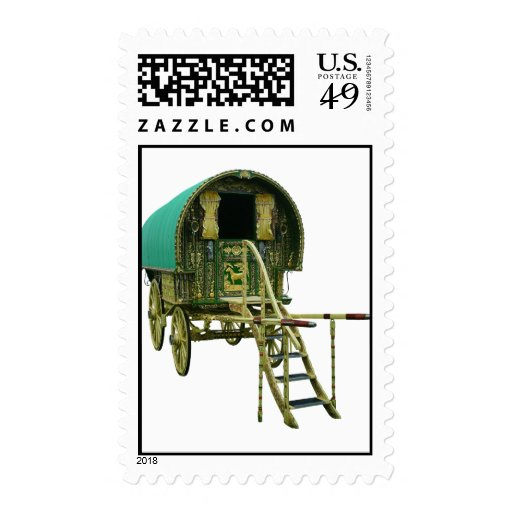 Gypsy bowtop wagon stamps