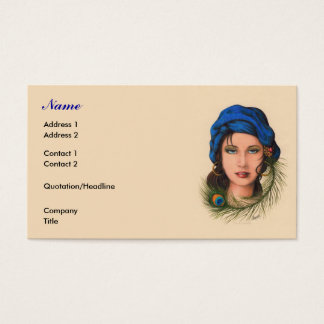 Gypsy Business Card