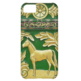 Gypsy caravan door detail cover for iPhone 5C