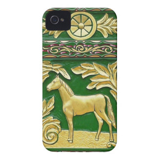 Gypsy caravan door detail iPhone 4 cover