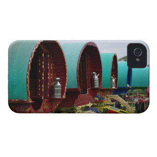 Gypsy caravan iPhone 4 case