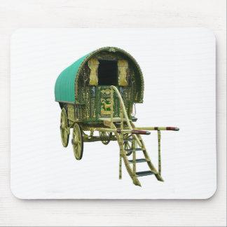 gypsy caravan mousepad