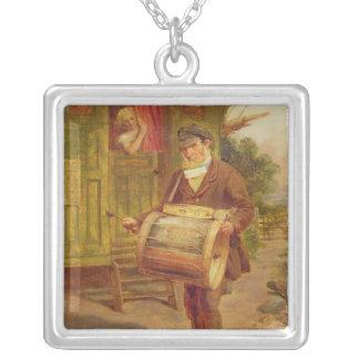 Gypsy Caravan Square Pendant Necklace