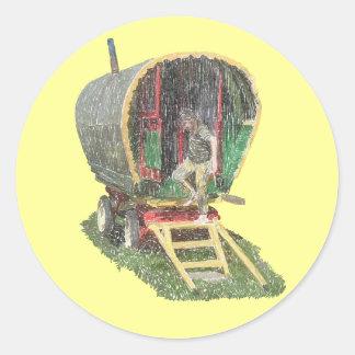 Gypsy Caravan Stickers