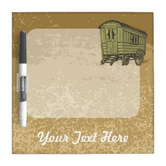 Gypsy caravan wagon Dry-Erase board