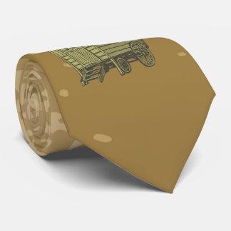 Gypsy caravan wagon neck tie