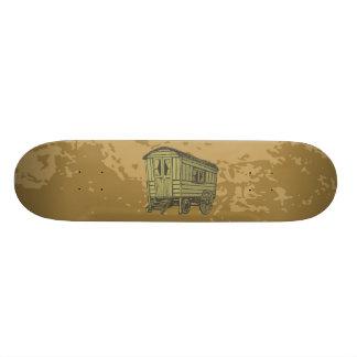 Gypsy caravan wagon skateboard deck