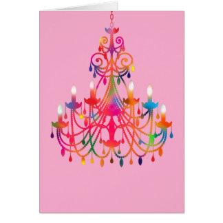 Gypsy Chandelier Card