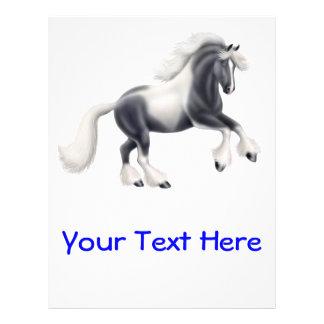 Gypsy Cob Paint Horse Flyer