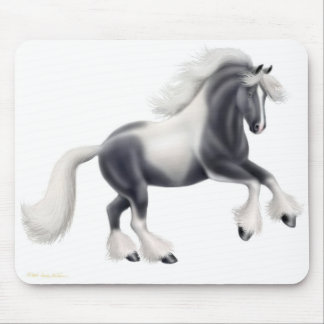 Gypsy Cob Vanner Horse Mousepad