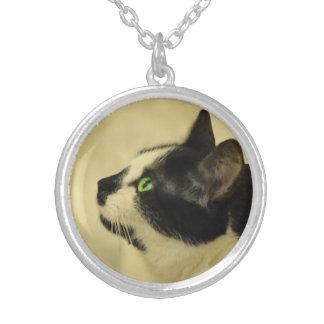 Gypsy Da Fleuky Cat -  Tuxedo Cat Necklace