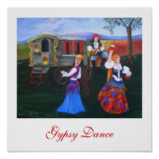 Gypsy Dance Print