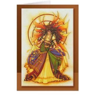 Gypsy Dancer Faery  by Teri Rosario Card