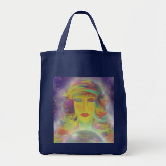 Gypsy Digital Art Tote Bag