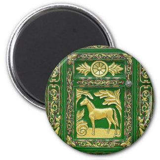 Gypsy door detail 2 inch round magnet