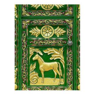 Gypsy door detail post cards