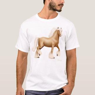 Gypsy Draft Horse Palomino T-Shirt