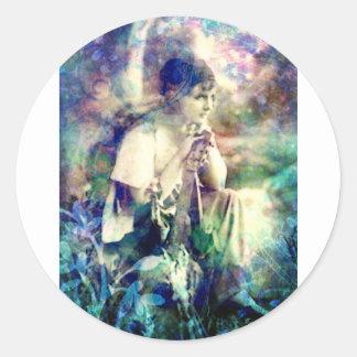 GYPSY DREAMS.jpg Classic Round Sticker