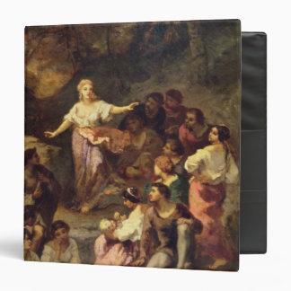 Gypsy Encampment, 1848 3 Ring Binder