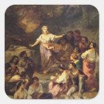 Gypsy Encampment, 1848 Sticker
