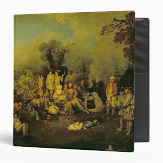 Gypsy Encampment 3 Ring Binder