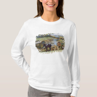 Gypsy Encampment, Appleby, 1919 T-Shirt