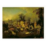 Gypsy Encampment Postcard