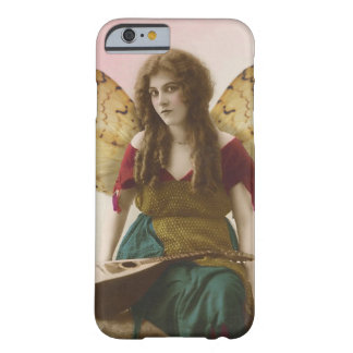 Gypsy Fairy with Mandolin Altered Vintage Photo Barely There iPhone 6 Case