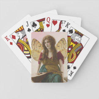 Gypsy Fairy with Mandolin Altered Vintage Photo Deck Of Cards